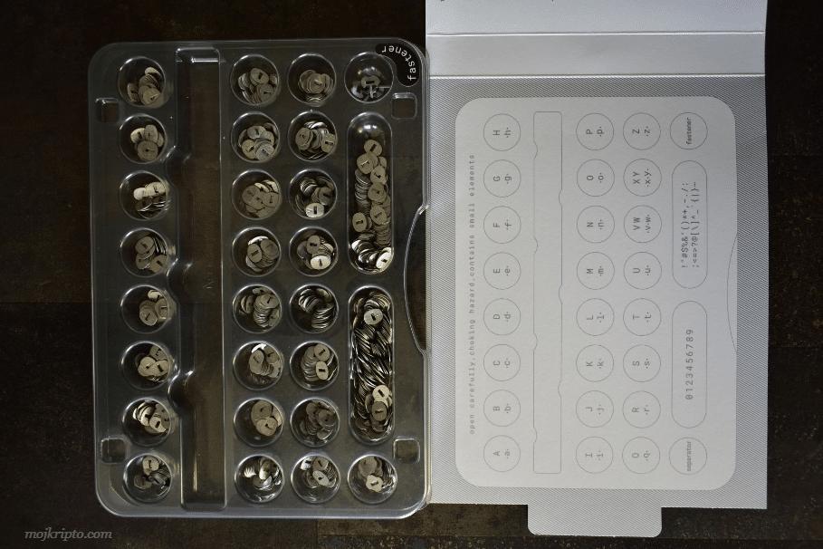 cryptosteel kutija