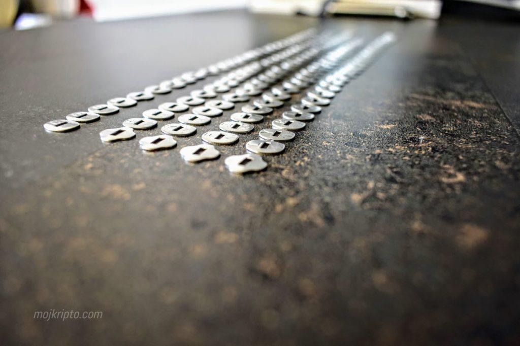 Cryptosteel pločice