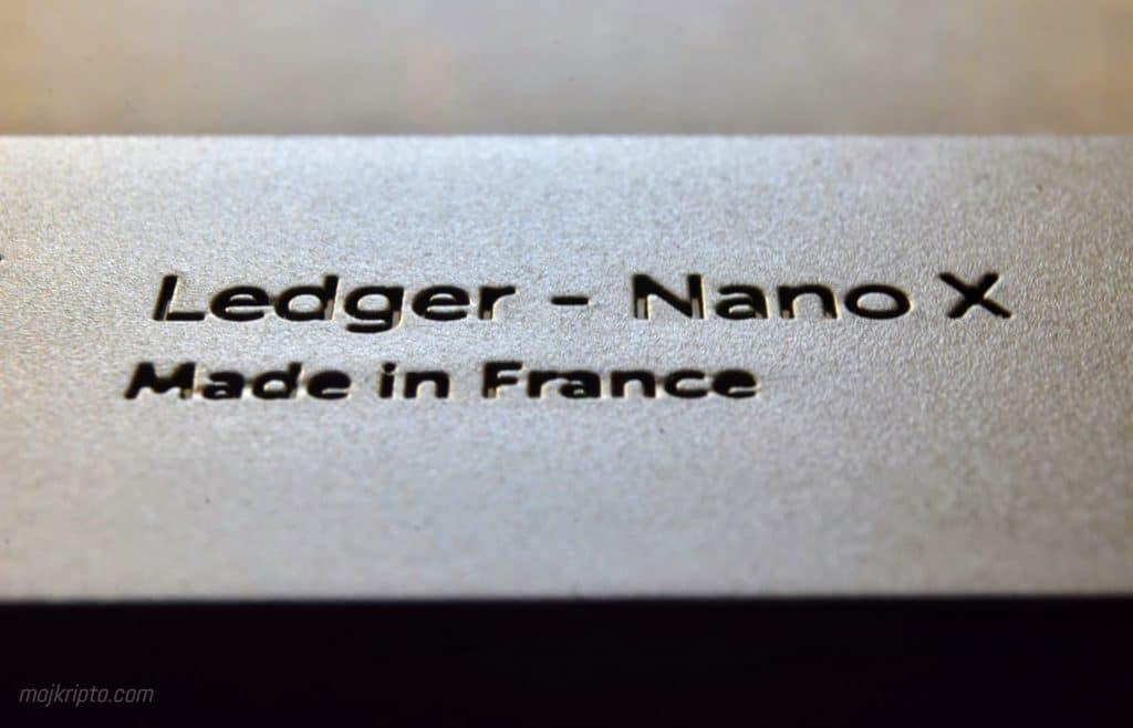 Nano X makro snimak
